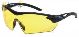 MSA Racers védőszemüveg, lövész szemüveg borostyánsárga lencsével 12 db-os csomagban