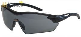 MSA Racers védőszemüveg, lövész szemüveg füst színű lencsével (fekete)