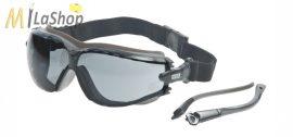 MSA Altimeter védőszemüveg víztiszta vagy füstszínű lencsével, fejpánttal és szárakkal