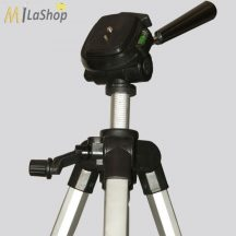 """geo-Fennel FS 14 állítható magasságú alumínium állvány/kamera állvány 1/4 """"-es csavarmenetű műszerekhez"""