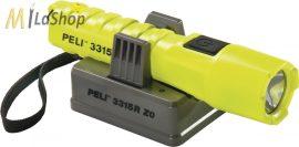 Peli 3315R Zone 0 tölthető, akkumulátoros, LED-es robbanásbiztos lámpa/sisaklámpa, 132 lm
