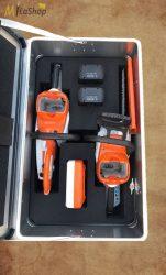 ZARGES K 424 XC mobil alumínium doboz Stihl gépek számára tervezett egyedi szivacsbetéttel