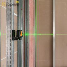 geo-Fennel FLG 40 PowerCross Plus zöld fényű önbeálló vonallézer