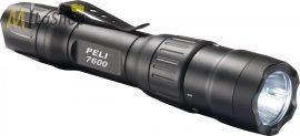 Peli 7600 taktikai,  tölthető (USB) akkumulátoros  LED lámpa, 3 színű (fehér/piros/zöld LED) 944 lm