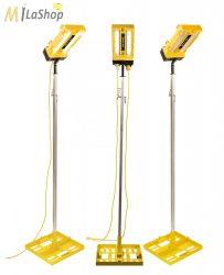 Peli 9600 összekapcsolható (sorba köthető) térvilágító lámpa / világítási rendszer, generátorról működtethető 3000 lm