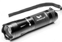 Mactronic /Falconeye ALPHA-220 bliszterben 3W Cree XP-E LED-es alumínium elemlámpa 250 lm