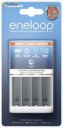 eneloop BQ-CC55E akkumulátor gyorstöltő Ceruza (AA) és Mikro (AAA) tölthető elemekhez