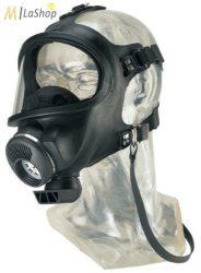 MSA 3S  légzésvédő teljesálarc (EN 136 3. Osztály) zsinórmenetes szűrős
