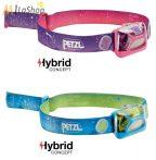 Petzl TIKKID® hybrid gyermek fejlámpa 20 lm - több színben