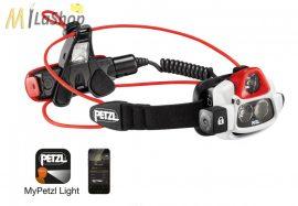 Petzl NAO® +  tölthető, MyPetzl Light mobilalkalmazással programozható fejlámpa, 750 lm