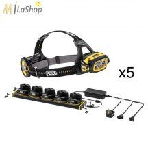 Petzl DUO Z1 akkumulátoros, robbanásbiztos fejlámpa, 5 darabos csomagban, tölltöállvánnyal - ATEX Zone 1/12 - 360 lm