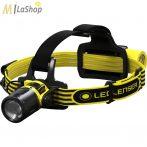 LED LENSER EXH8R akkumulátoros, tölthető robbanásbiztos ATEX lámpa zóna 1/21, - 220 lm