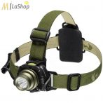 Mactronic/Falconeye SPOOK, 5W CREE LED-es fejlámpa 200 lm