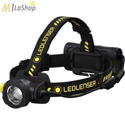 LedLenser H15RW Work ipari tölthető Led fejlámpa Li-ion akkuval 2500 lm