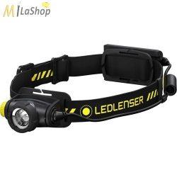 LedLenser H5R Work tölthető Led fejlámpa Li-ion akkuval 500 lm