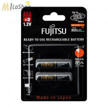 Fujitsu HR4UTHCEU-2B AAA 900mAh Ni-MH akkumulátor 2 db-os