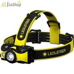 LEDLENSER IH9R tölthető ipari fejlámpa 600 lm