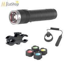 Led Lenser MT10 tölthető fegyverlámpa szett 1000 lm!