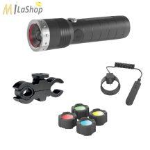 Led Lenser MT14 tölthető fegyverlámpa szett 1000 lm!