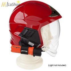 Nightstick forgatható elemlámpa tartó az európai MSA tűzoltó és SAR (Search & Rescue) sisakokhoz