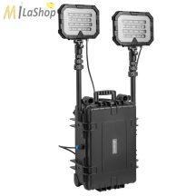 Mactronic Floodlight duplafejes akkumulátoros térvilágító lámpa 36000 lumen - 2 féle ólomakkumulátor (Pb) teljesítménnyel rendelhető