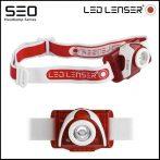 Led Lenser SEO5 LED fókuszálható fejlámpa 3xAAA 180 lm - több színben