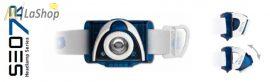 Led Lenser SEO7R tölthető LED fejlámpa 220 lm kék vagy fekete színben