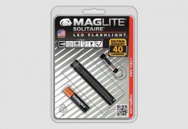 Maglite Solitaire LED lámpa, fekete (bliszteres) 37 lm