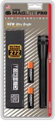 Mini Maglite® PRO LED elemlámpa, fekete (bliszteres) 226 lm