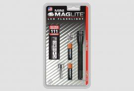 Mini Maglite AAA LED elemlámpa, fekete (bliszteres) 84 lm