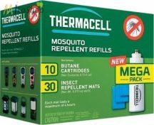 Thermacell utántöltő MEGA-Pack (120 órás védelem) 10db patron, 30db 4 órás lapka)