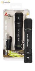 Mactronic Sniper 3.3 tölthető, akkumulátoros taktikai LED lámpa Power Bank funkcióval - 1000 lm