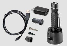 Maglite MAG-TAC tölthető lámpa szett (taktikai fejes) 533 lm