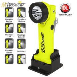 Nightstick INTRANT robbanásbiztos akkumulátoros ATEX Dual-Light ™ kézilámpa/pipalámpa Zóna 0 - 200 lm