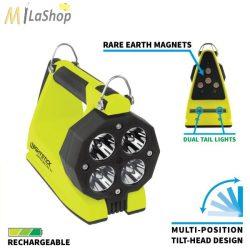 Nightstick INTEGRITAS™ robbanásbiztos akkumulátoros ATEX™ kézilámpa mágneses talppal Zóna 0 - 600 lm