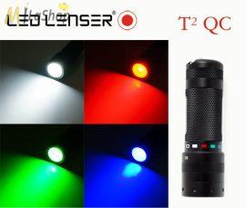 LED LENSER T2QC-9802QC LED lámpa 4 színű  3AAA 140 lm